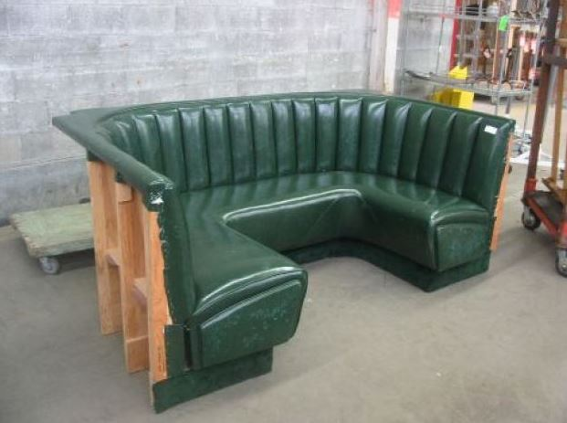 Modern Curved Banquette Seating Fabulous Booth